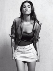 Megan Fox pic from the Emporio Armani ads
