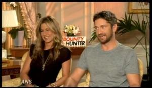 Jennifer Aniston and Gerrard Butler share chemistry in The Bounty Hunter