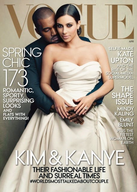 Anna Wintour was so keen ot have Kim Kardashian and Kanye West on the cove of Vogue that she bumped Kate Upton