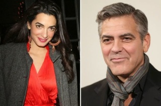 george Clooney's new fiancee Amal Alamuddin is a Lebanon bron Oxford educated international lawyer who represented Julian Assange, and a pretty hot looking woman